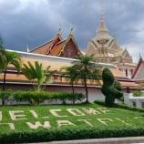 『【バンコク観光】ワット・ポー(卧佛寺) 巨大な寝釈迦像!他の魅力も多い寺院です!』の画像