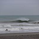 昨日の波は・・・