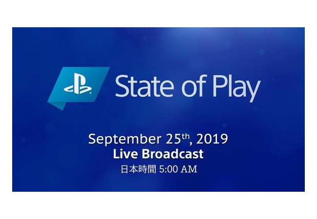 SONY『State of Play』 第3回放送決定!!
