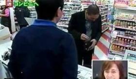 【テレビ】  松本人志 が コンビニに行く途中、ボブサップに追われる動画  海外の反応