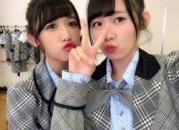 山本瑠香と服部有菜が同じ髪型、同じ衣装、同じリップにした結果