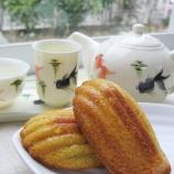 『漢方&薬膳セミナーのおやつ・薬膳スイーツ「にんじんのマドレーヌ」作りました』の画像