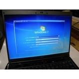 『Windows7Proに改造&バージョンアップ作業 Fujitsu FMV-BIBLO MG75Y』の画像