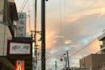 思わずパシャりしたり!夕方にめっちゃ綺麗な虹がでたみたい!〜交野市内からみた虹の様子〜