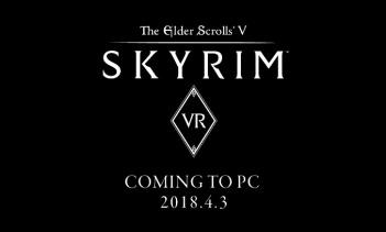 Steam版(PC版)『Skyrim VR』が本日発売!