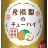 『【数量・期間限定】彦根の梨のおいしさがぎゅーっとつまってます。「彦根梨のチューハイ」』の画像