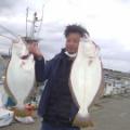 初めてのヒラメ釣り2