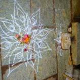 『【ハンピ番外編】街を彩る伝統 コーラム と サリー』の画像