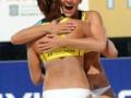 【画像】エッロい格好してる女子ビーチバレー選手wwwwwwwwwwww(画像あり)