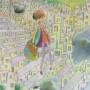 『蒸栗色の街の空を』