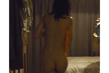 臼田あさ美の全裸で見せるエロい生尻