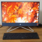 『デスクトップ一体型パソコン【hp All-in-One 22-df】を買いました!購入直後レビュー』の画像