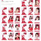 『[物販情報] 新グッズ発売( 生写真セット(赤白衣装))!9月19日より通販サイトで販売開始…【イコラブ】』の画像