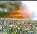 【画像】 サッカー場が炎上=上海