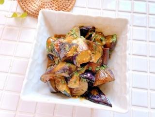 新米ご飯が進む!秋の簡単作り置き『なすの大葉味噌』