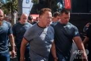 【動画】 シュワルツェネッガーさん(71)、南アで暴漢に背中を蹴られる 「人混みに押されたと思った」