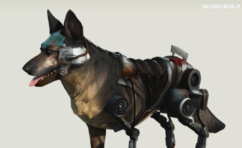Project Cyberdog's Rex Dogmeat Replacer v2.0