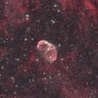 『アイダスNB1フィルターによるクレセント星雲(NGC6888)』の画像