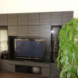 『ワイド2998ミリのテレビボードの最終設置』の画像