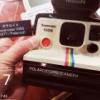 これがInstagramアイコンの元ネタ?Polaroid Super color 1000 寄贈いただきました!