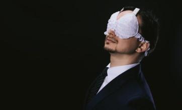 【衝撃】堂々と人前で装着できるブラジャー式アイマスク爆誕wwwwwwwwwwww