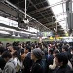 東京って通勤ラッシュどれくらい混んでるの?