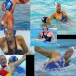 『【画像】女子水球で、おっぱいポロリ続出でクソワロタwwwwwwwww』の画像