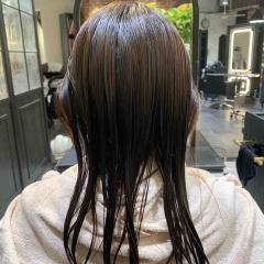 表参道 神宮前 東京 都内で美髪パーマが得意な美容室MINX原宿☆須永健次☆ミディアムレングスに大人めナチュラルな春パーマをかけてみました。