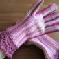 №150-8 オランジュ(プロバンスシリーズ)でかぎ編み手袋 8