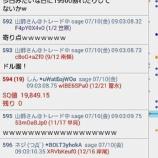 『SQ速報 7月限』の画像