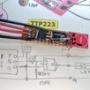 TTP223タッチセンサーモジュールの実験