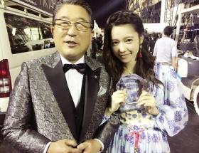 【画像】ぱるるが徳光さんと仲良くツーショット