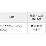 『【KHC】結局クラフト・ハインツを15万円分買い増したよ!』の画像