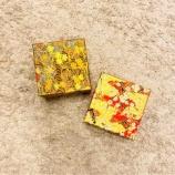 『老舗WESTの抹茶・ほうじ茶クッキーが和紙の包装』の画像
