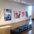 画家・加藤恵美子活動情報・国立市の「コートギャラリー国立」で個展を開催しました