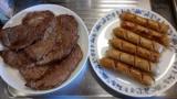 【朗報】ウインナーとステーキ、焼ける(※画像あり)