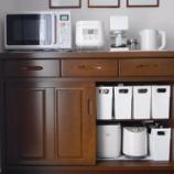 『使いやすさとメンテナンスを考えたキッチン家電の置き場所と収納方法!』の画像