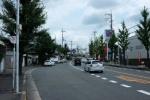 万代目の前。機物神社へ直ぐのバス停は『倉治』~交野バス停探訪記No19~