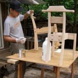 『ごぱんの椅子・11塗装』の画像