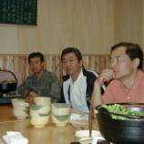 『2000年 6月12日 金澤伸之・JM7GTK壮行会:弘前市・居酒屋』の画像