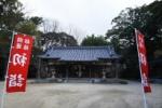 大晦日!天田神社でも初詣の準備。しめ縄も新しくなってるみたい