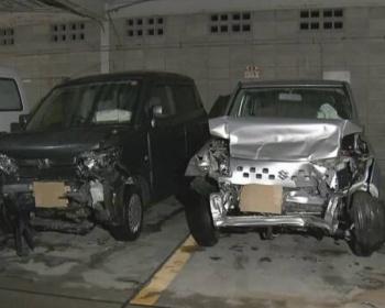 センターラインをはみ出し対向車線の車と正面衝突、80代夫婦が死亡 鹿児島県指宿市(画像あり)