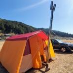 DEBUSキャンプ(ゆるゆる自作キャンパー)