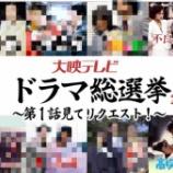 『大映テレビ「ドラマ総選挙」』の画像