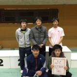 『◇仙台卓球センタークラブ◇ 第86回北日本卓球大会 結果』の画像