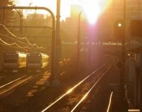 『1年の締めくくりとしての日没情景写真撮影…於:市ヶ谷』の画像