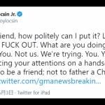 【フィリピン外相】中国に「わが友よ。どうすれば礼儀正しく表現できるだろうか?『消えうせろ!』」