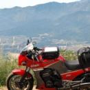 バイクで陣馬形山1445m
