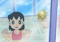 【悲報】しずかちゃん児童ポルノの規制を受け水着で入浴する異常事態にwww(画像あり