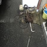 『和式便器つまり 大阪市平野区 -排水管つまり・高圧洗浄-』の画像